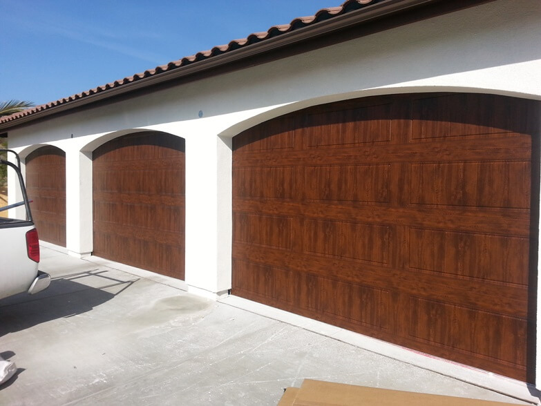 Custom Wood Garage Doors After 1