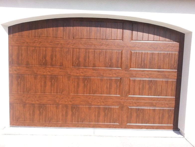 Custom Wood Garage Doors After 2