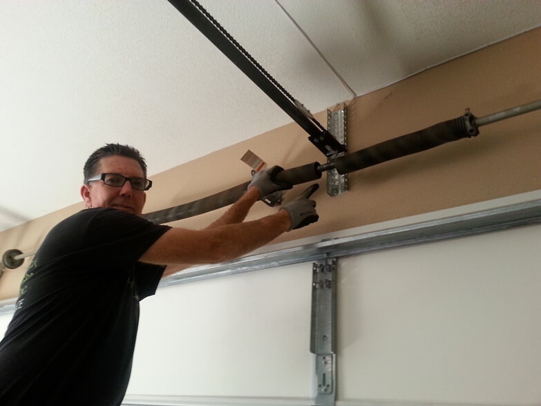 garage door repairs temecula broken spring