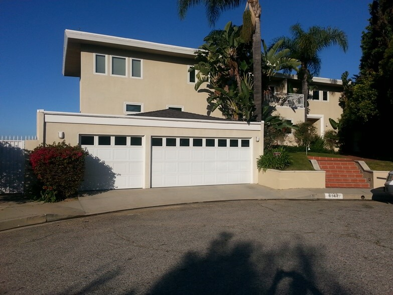 Menifee Garage Doors LA Project Before